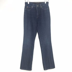 VTG Guess 060 Bootleg High Rise Blue Denim Jeans